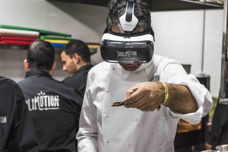 Sublimotion: The Haute Cuisine Dining Experience with Spectacular Technology