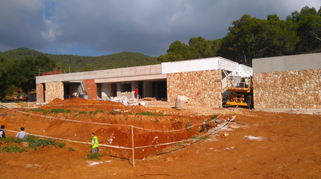 Luxury Ibiza Villa Development in Winter