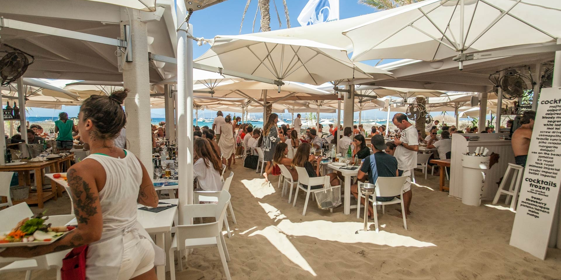 Ibiza by Boat: The Best Restaurants on Formentera