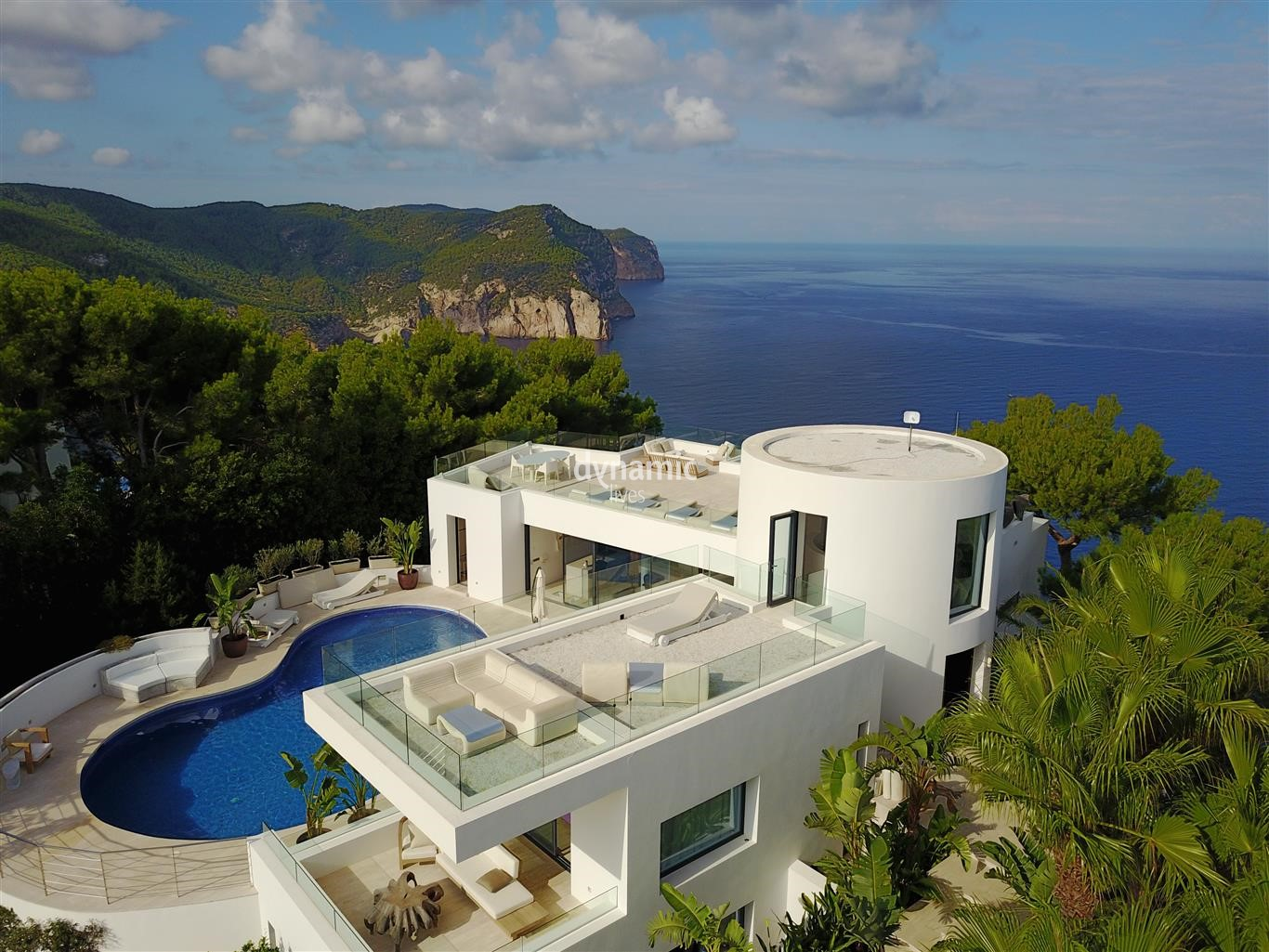 Five of our best Ibiza Villas with modern design