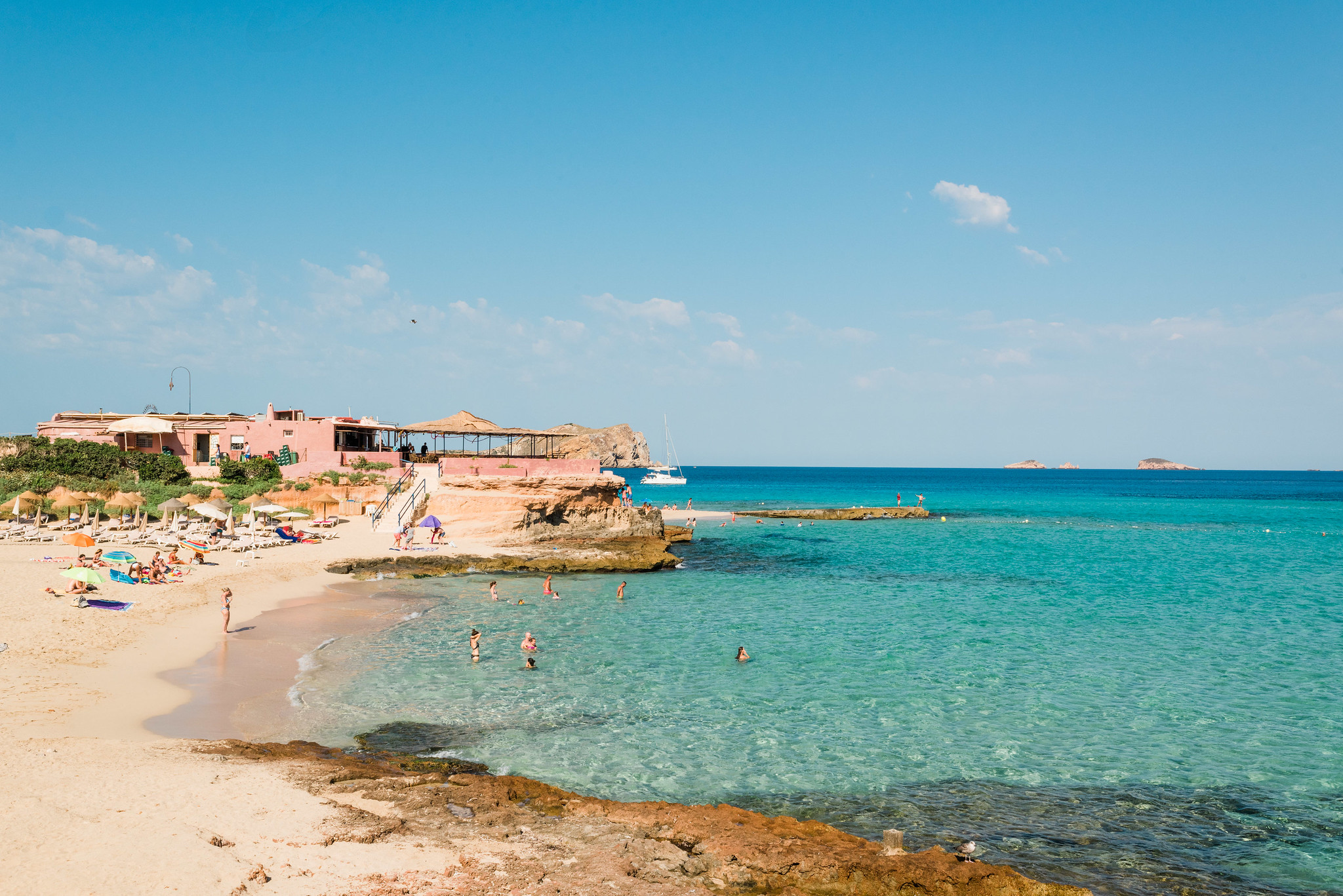Postcards from Ibiza: Cala Conta